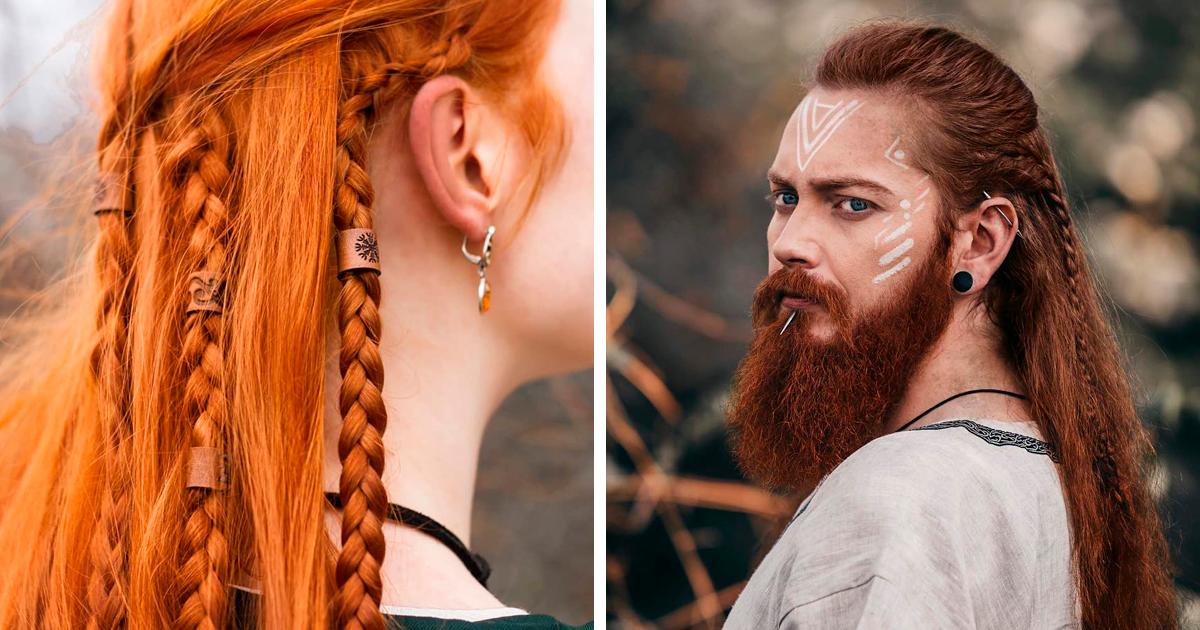 Penteados vikings para as valquírias dos dias atuais