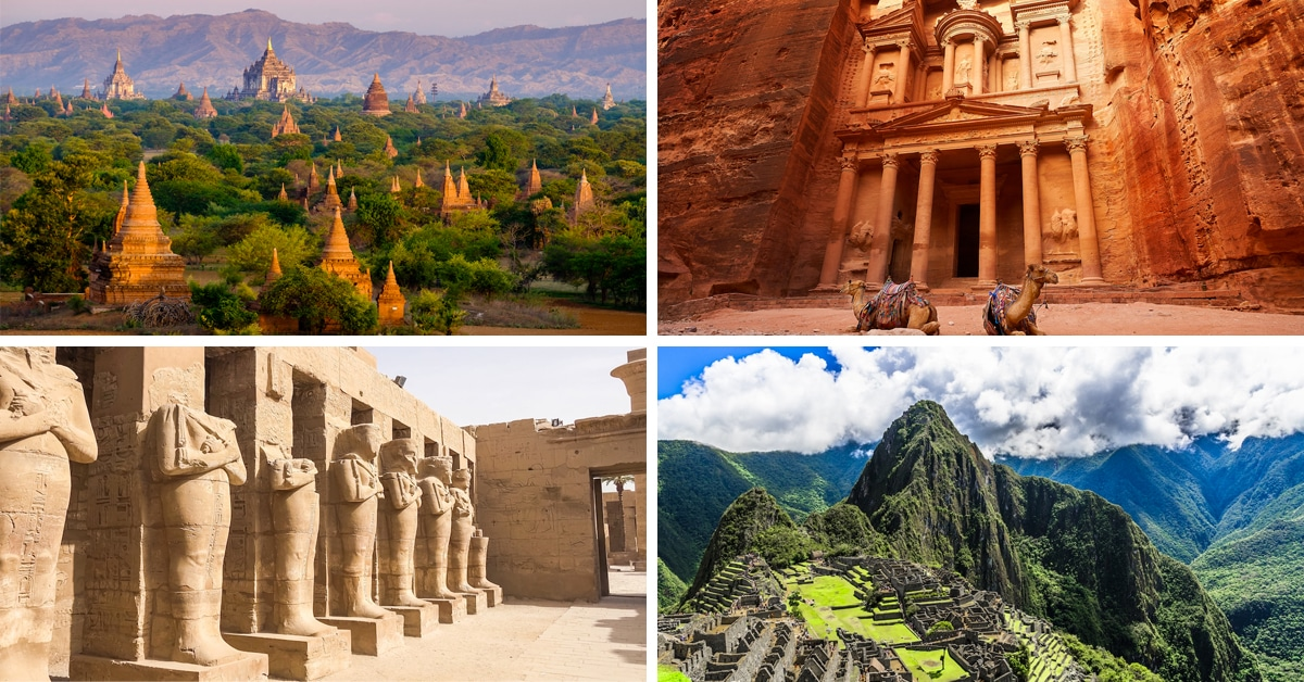 8 das ruínas antigas mais inspiradoras do mundo