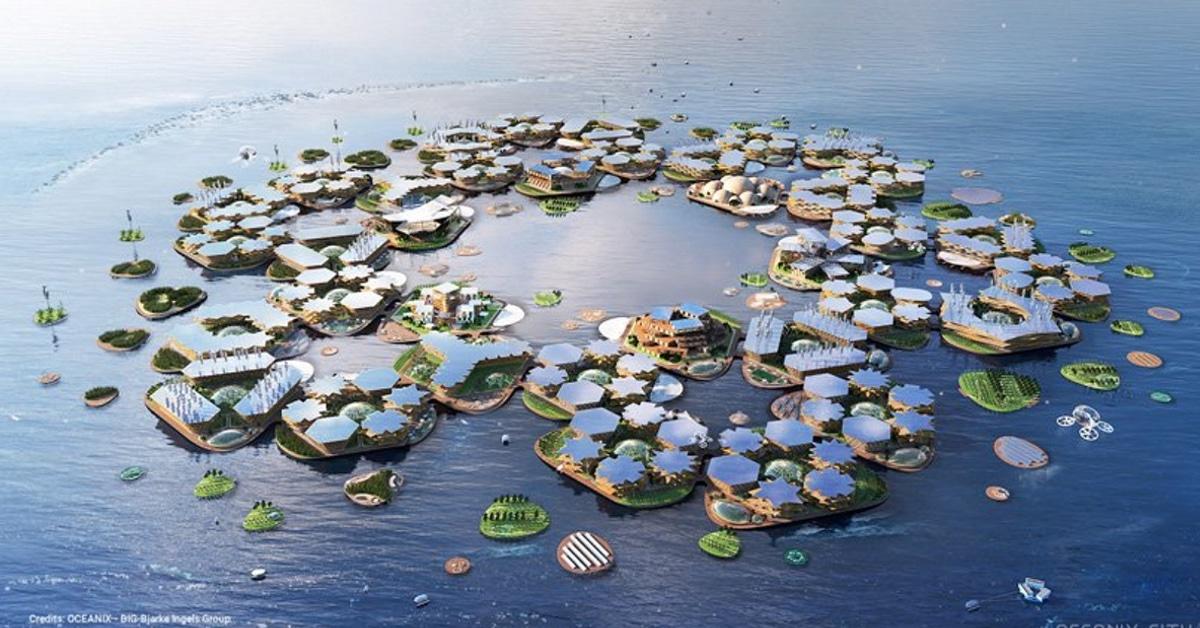 Projeto de cidade flutuante auto-sustentável nas Nações Unidas