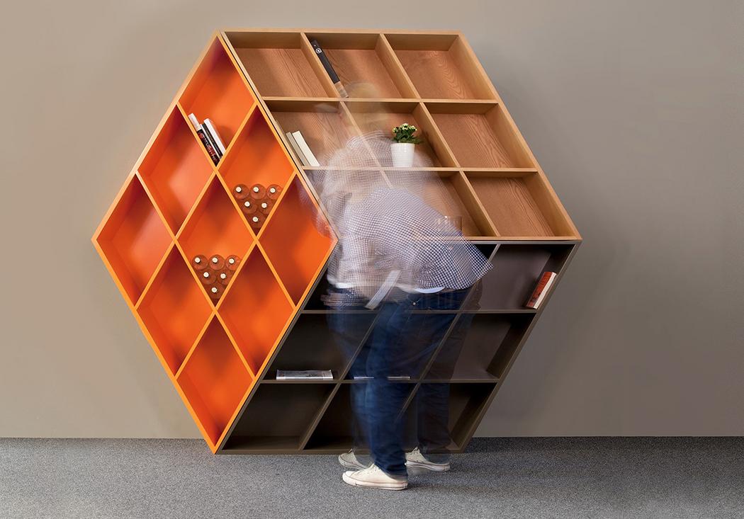 10 designs de estante de livros tão originais quanto você