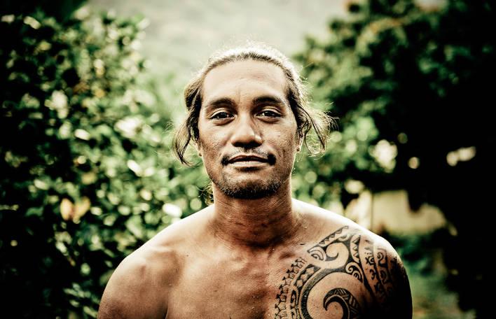 Fotógrafa captura a essência dos habitantes da Polinésia Francesa através de retratos