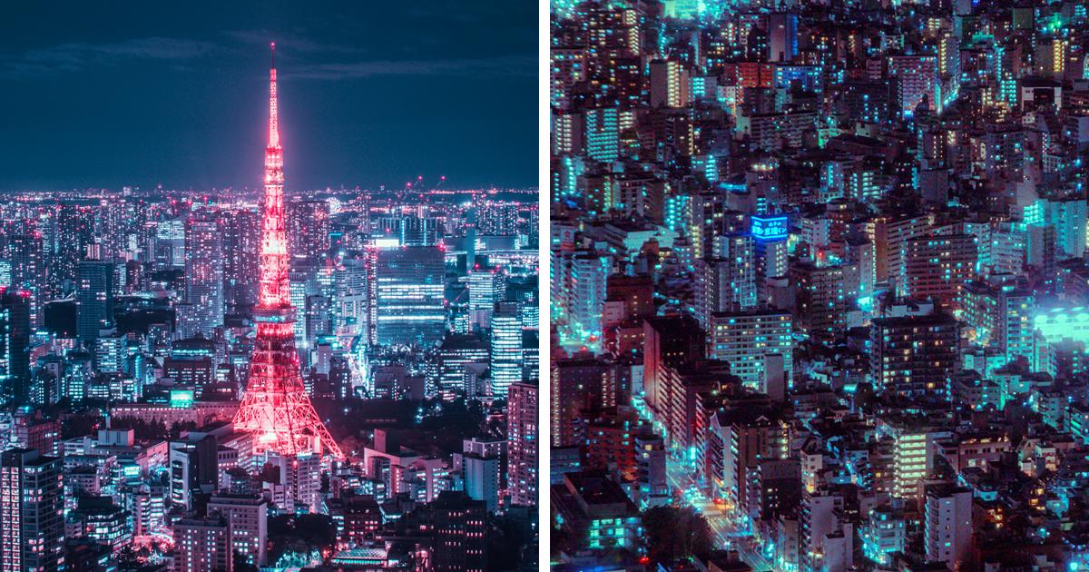 Fotógrafo sobe nos lugares mais altos de Tóquio e desce com estas fotos deslumbrantes da cidade