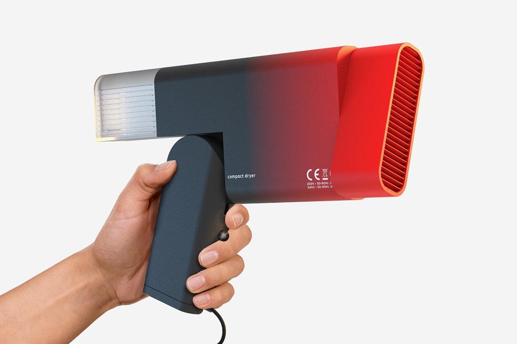 Este secador de cabello é mais fácil de guardar!