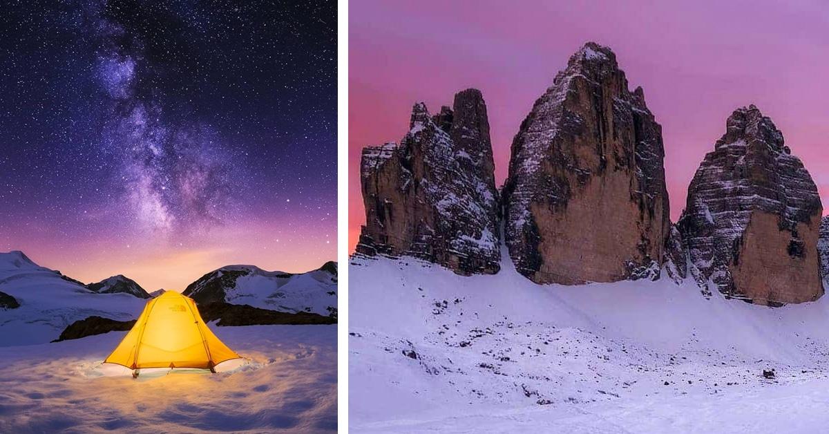 A beleza mágica dos Alpes