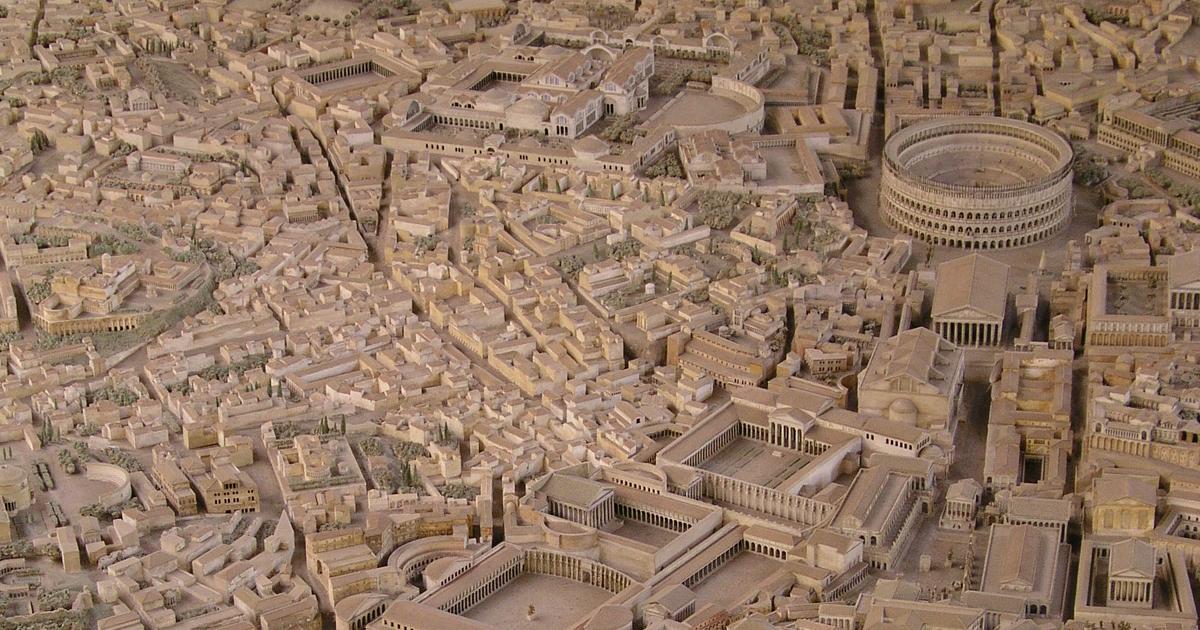 Arqueólogo levou 36 anos para fazer o modelo mais preciso da Roma Antiga