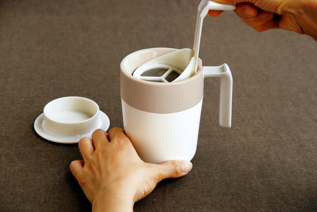 A partir de agora você pode preparar seu café diretamente desta caneca