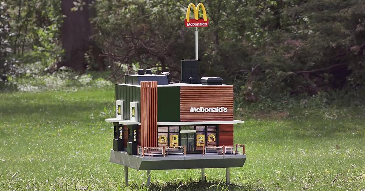 Entenda porque o McDonald's abriu um restaurante minúsculo para abelhas