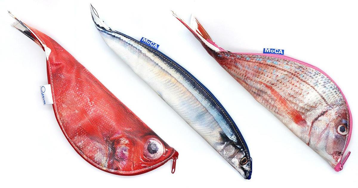 Designer japonesa cria bolsas com zíper a partir da anatomia de peixes