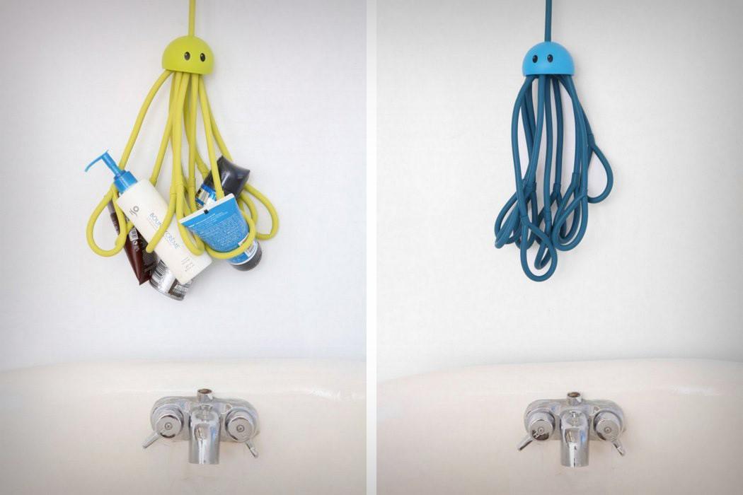Você sabe o que precisa para a sua higiene pessoal? De um polvo, isso mesmo, de um polvo.