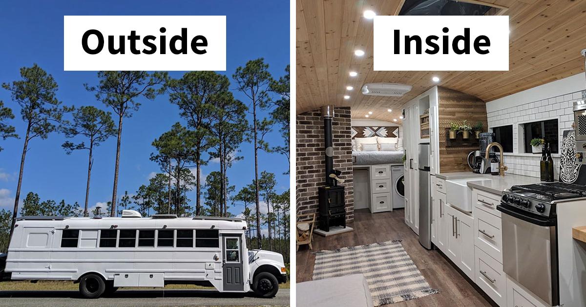 As 30 transformações mais épicas de vans e ônibus que vão te inspirar a cair na estrada