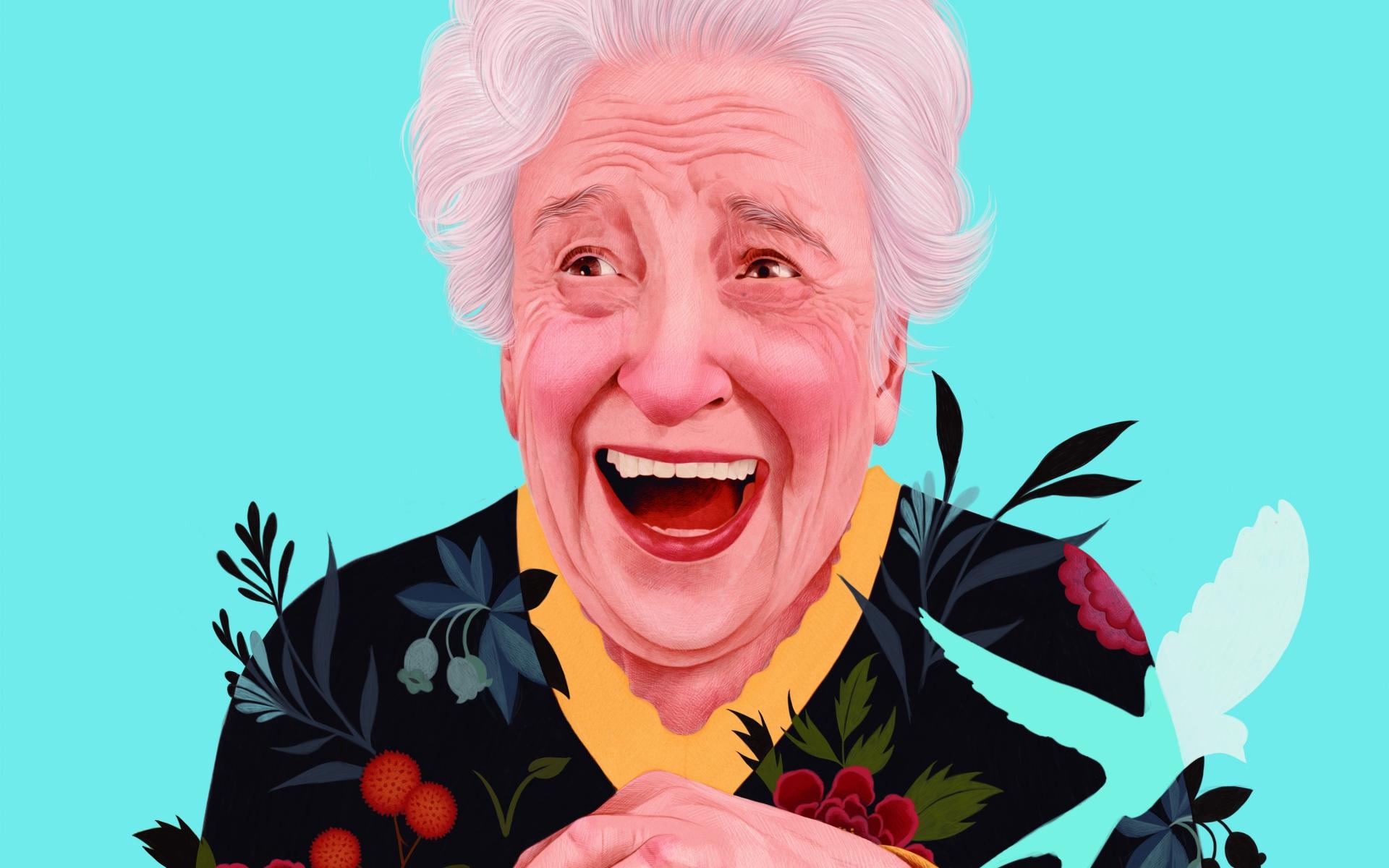 Ilustradora espanhola faz sucesso com estes retratos florais permeados de doçura