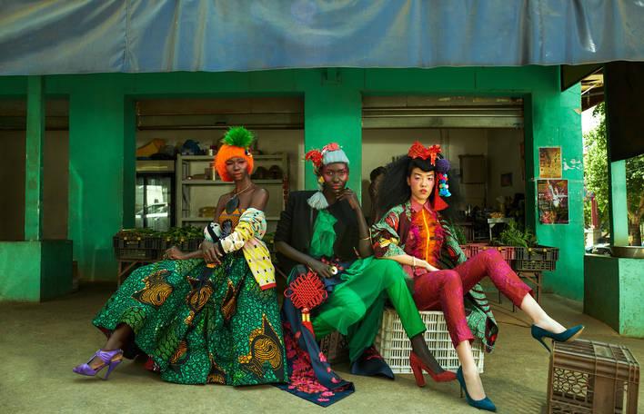 Fotógrafa reune cor, cultura e moda na China Town da África do Sul