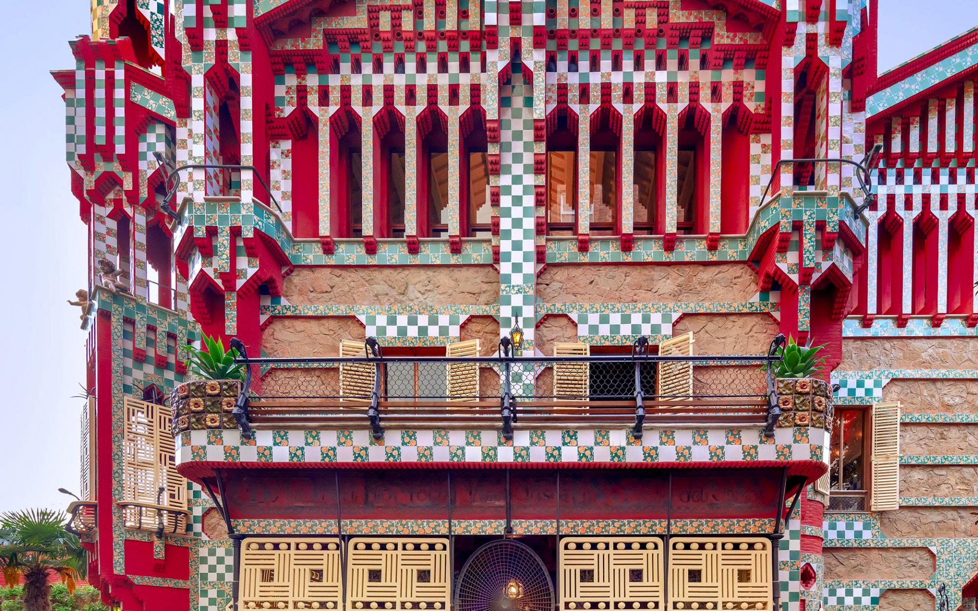 Adentre-se na arquitetura exuberante da Casa Vicens de Gaudí
