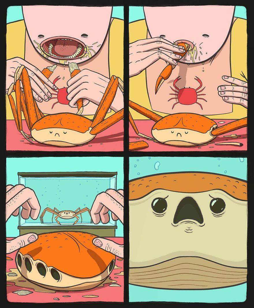 26 ilustrações que são estranhamente fascinantes