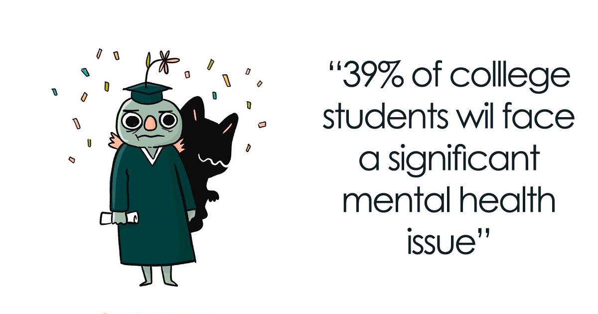 14 ilustrações informativas para a conscientização sobre a saúde mental
