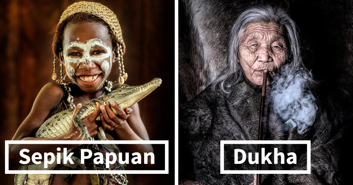 """The World in Faces"", série mostra as tribos indígenas dos cantos mais inacessíveis do mundo"