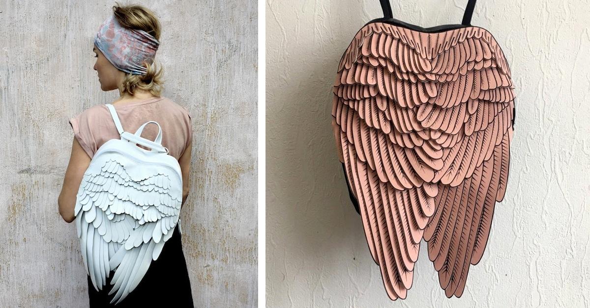 Um par de asas vai brotar das suas costas com estas mochilas elegantes