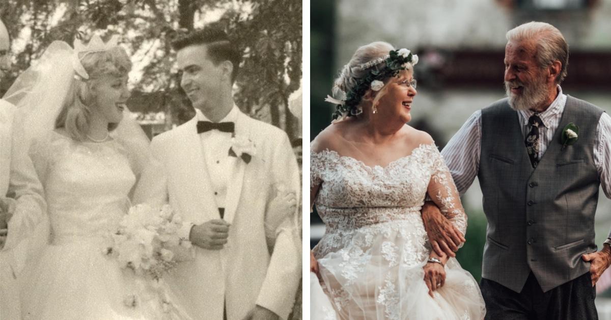 Fotógrafo surpreende seus avós com série belíssima no sexagésimo aniversário de casamento