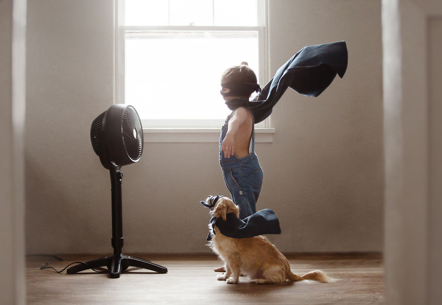17 fotos que mostram o laço inseparável entre esta garotinha e seu cachorro