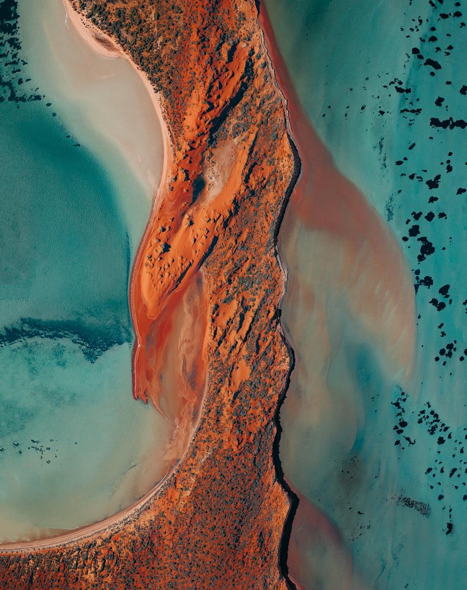 Fotografias esplêndidas de Shark Bay na Austrália