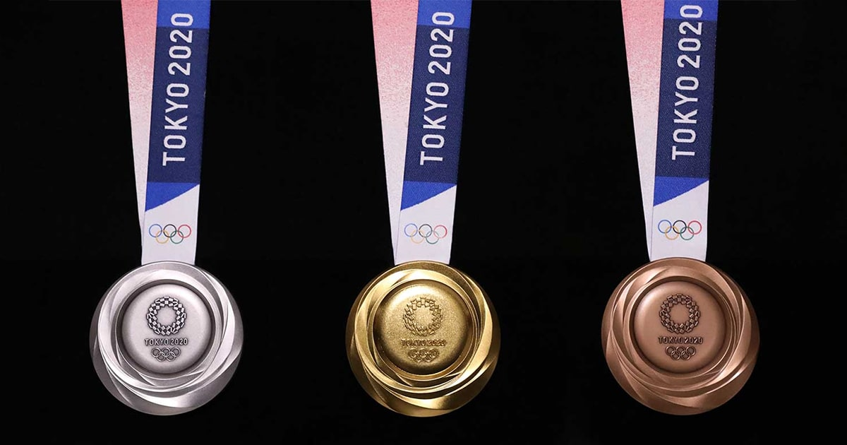 Olimpíadas de Tóquio de 2020 revelam os designs para as medalhas olímpicas que vão ser criadas a partir de resíduos eletrônicos