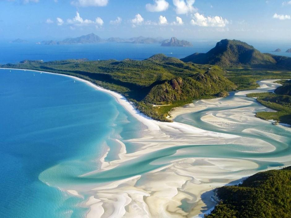 27 imagens cintilantes de praias de areia branca ao redor do mundo