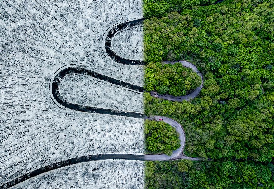 41 fotografias aéreas impressionantes