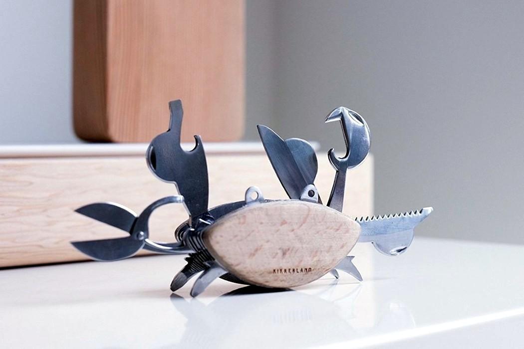 Empresa reinventa o design do canivete como um crustáceo