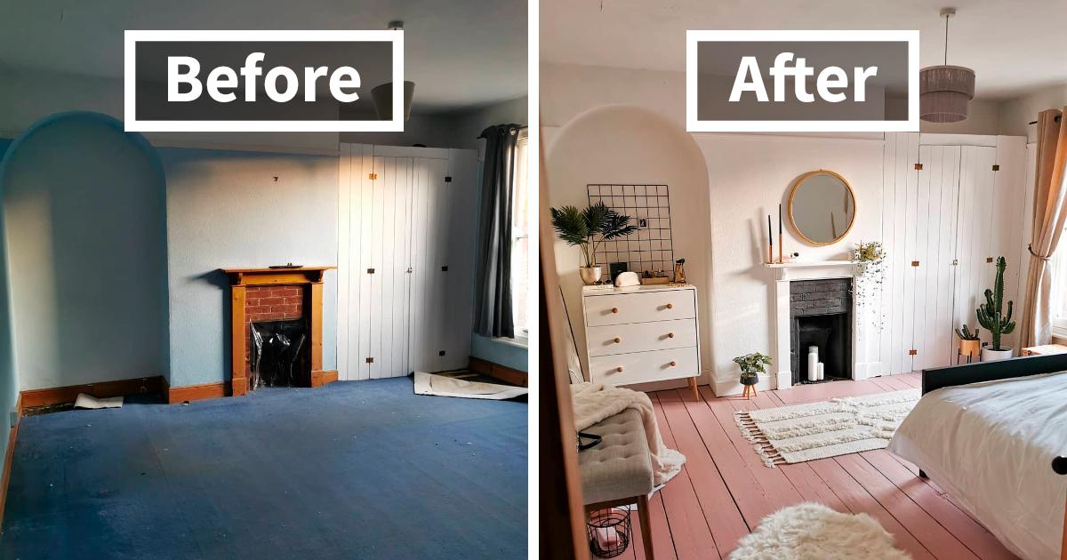 Esta blogueira renovou seu quarto de hóspedes em apenas 5 dias e as pessoas estão encantadas com o resultado