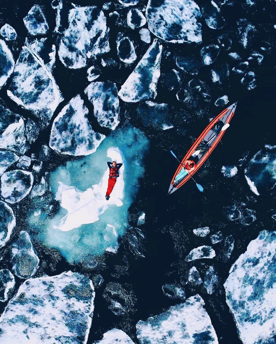 Fotógrafa viaja para Baikal, o lago mais profundo e mais antigo do planeta para capturar sua beleza sobrenatural