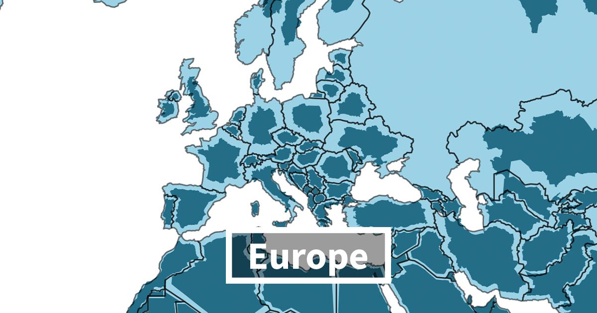 Depois de ver este mapa com o tamanho real de cada país, você nunca mais vai ver o mundo da mesma forma