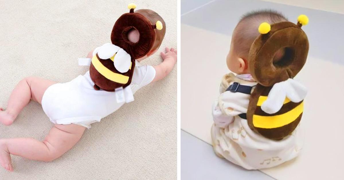 Estas mochilas de animais para bebês são adoráveis e ainda protegem suas cabeças se caírem