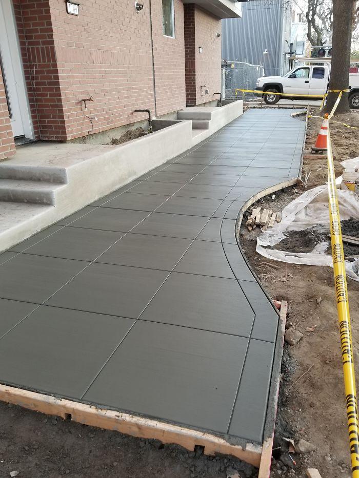 Esta empresa de concreto decidiu compartilhar seus trabalhos para a alegria dos perfeccionistas