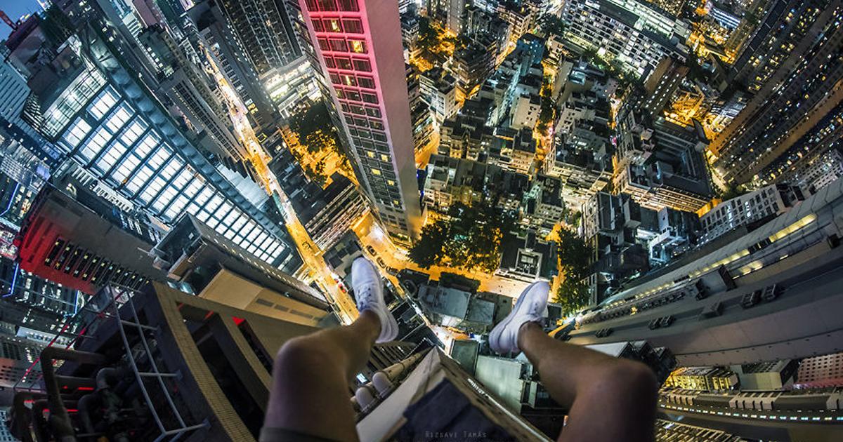 Ele escalou até os lugares mais bonitos e emocionantes de Hong Kong, e aqui estão 18 fotos para quem não tem vertigem