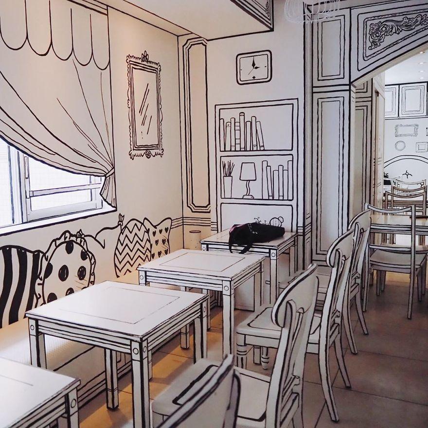 Este café inusitado no Japão fará você se sentir como se tivesse entrado em um desenho animado
