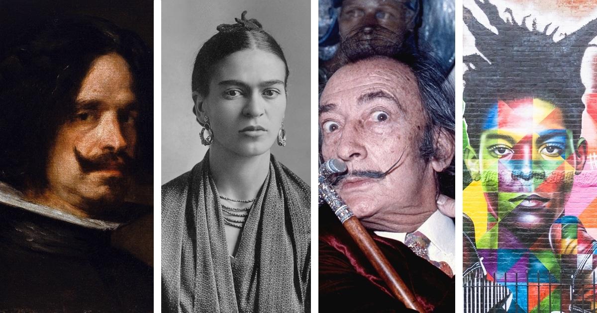 10 grandes artistas hispânicos que moldaram a cultura ocidental