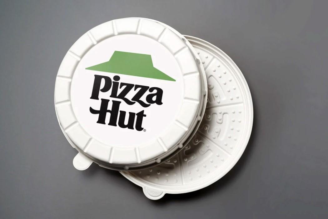 As novas caixas de pizza da Pizza Hut são ecológicas e projetadas para deixar a pizza mais saborosa