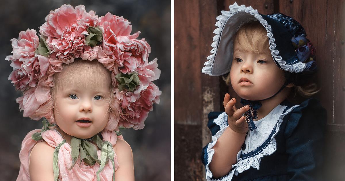 Esta mãe fez uma série com sua filha adotada que mostra quão amáveis e adoráveis são as crianças com Síndrome De Down