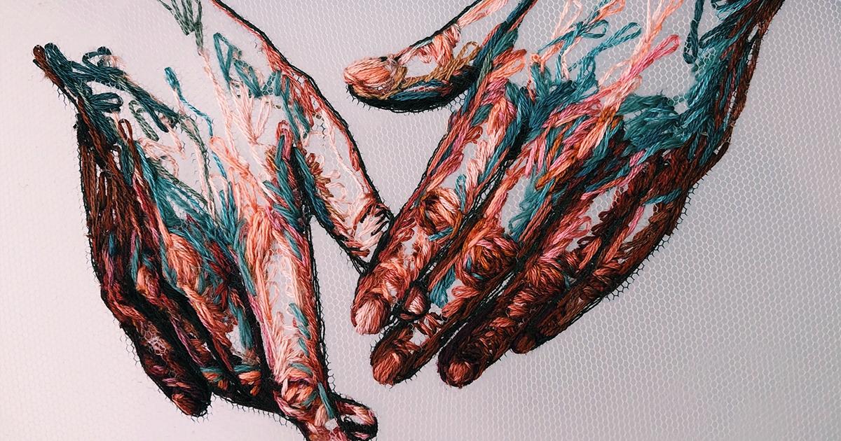 47 bordados inspirados na moda e na alta costura desta artista de bordados