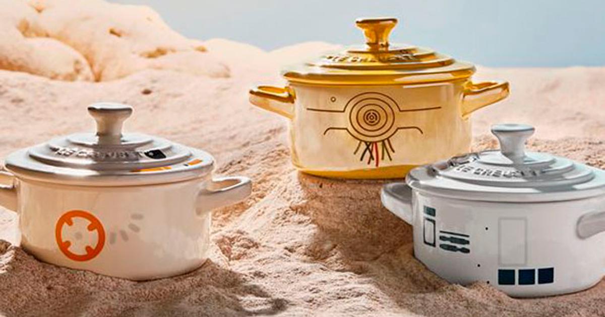 Le Creuset anuncia coleção de itens de cozinha para enlouquecer os fãs de Star Wars