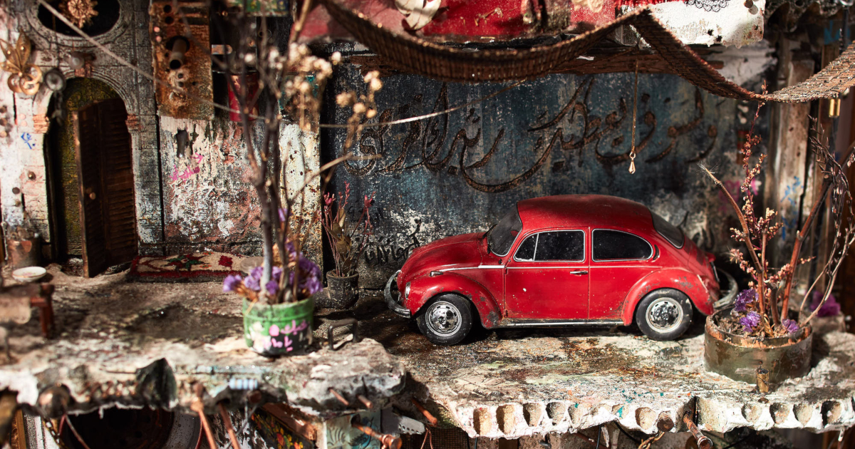 As miniaturas arquitetônicas deste artista sírio promovem diálogo significativo sobre conflitos na Síria