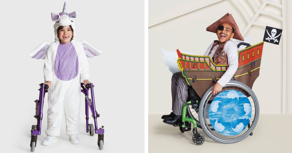 Loja lança linha inclusiva de fantasias de Halloween para crianças com deficiência