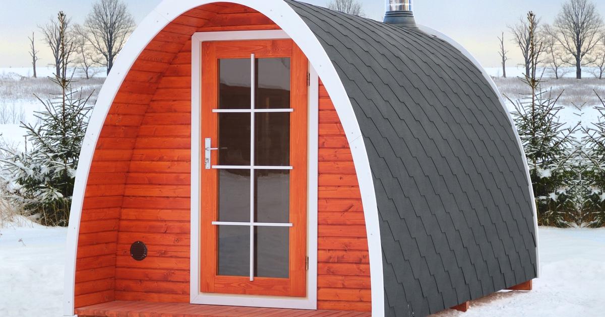 Dê um toque escandinavo para sua casa com estes kits de sauna ao ar livre