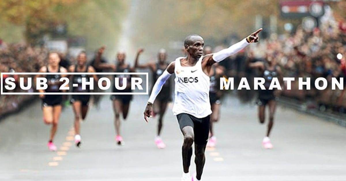 Vídeo fascinante revela como Eliud Kipchoge correu uma maratona perfeita em menos de 2 horas