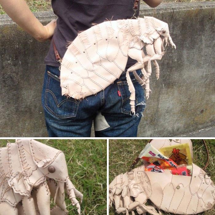 Artista japonês cria bolsas inspiradas em criaturas realistas e outros acessórios que parecem muito reais (35 fotos)