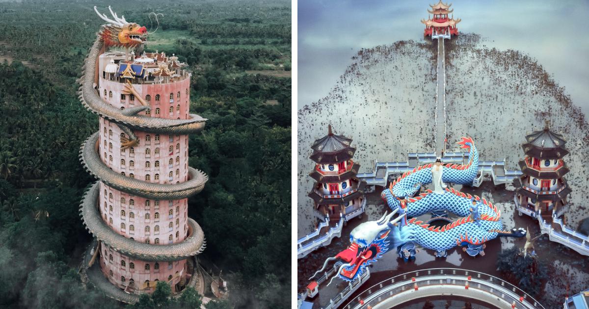 Fotógrafa captura 9 dos templos mais bonitos e irreverentes na sua viagem pela Ásia