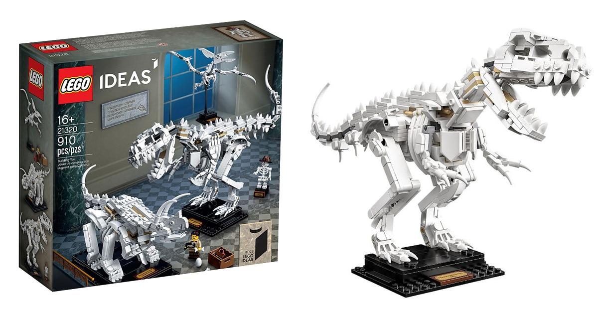 Este kit LEGO de fósseis de dinossauro é perfeito para os entusiastas da história natural