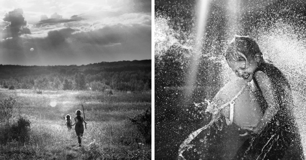 Passei 4 anos documentando meus filhos curtindo a infância sem tecnologia, e aqui estão 30 das minhas fotos favoritas