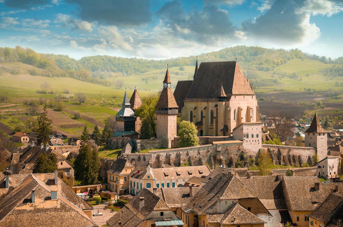 Pedalando pelas igrejas fortificadas medievais da Transilvânia