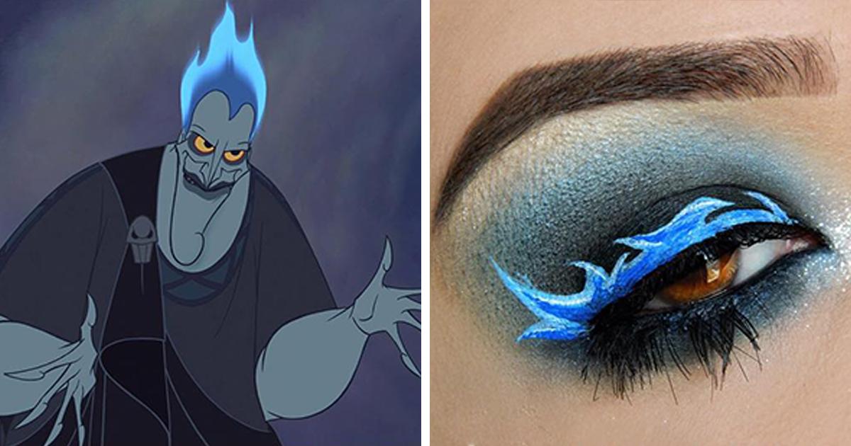32 maquiagens inspiradas na Disney por uma maquiadora brasileira extraordinária